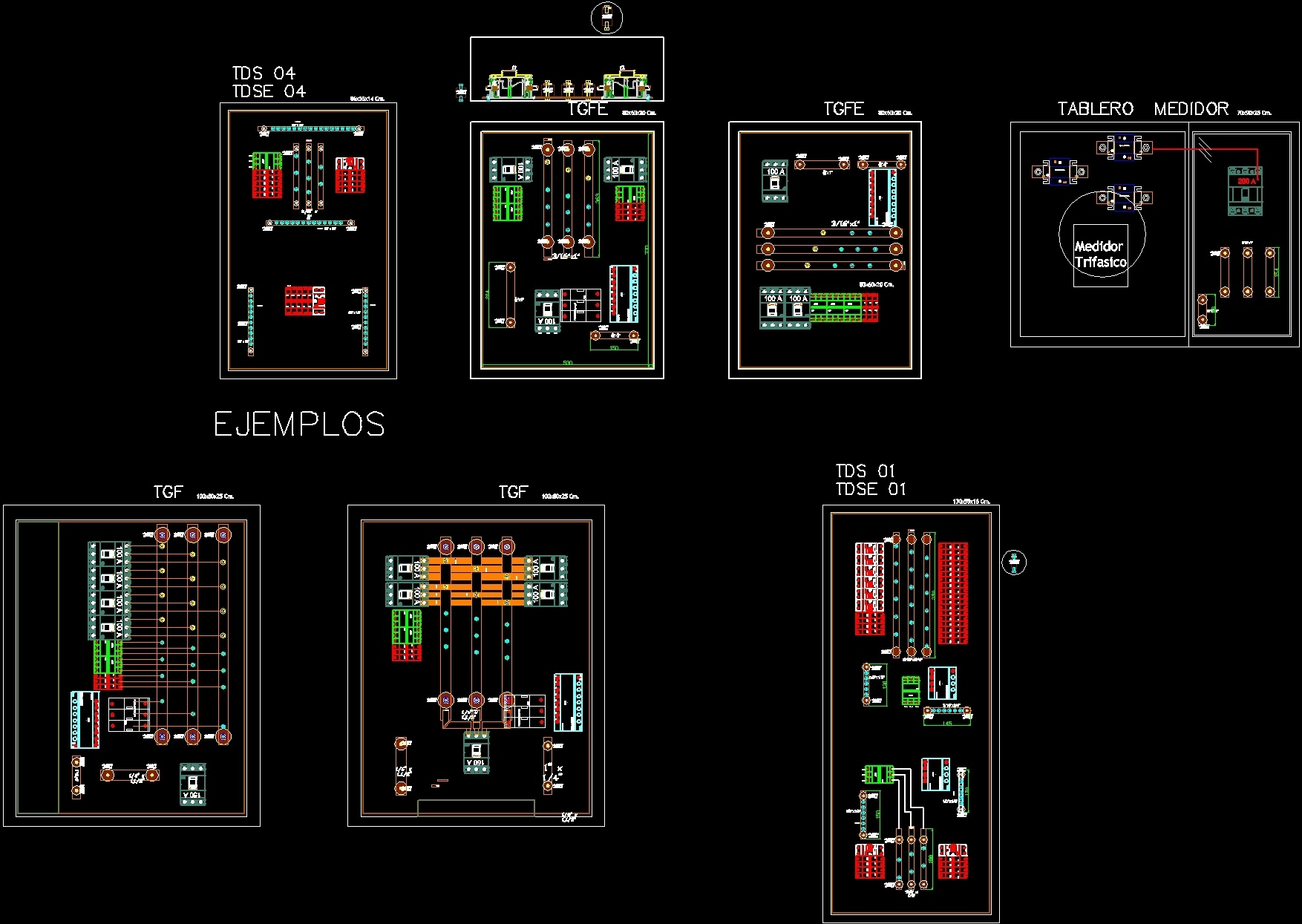 Electrical Panel Detail Dwg For Autocad Designs Cad Additional Screenshots