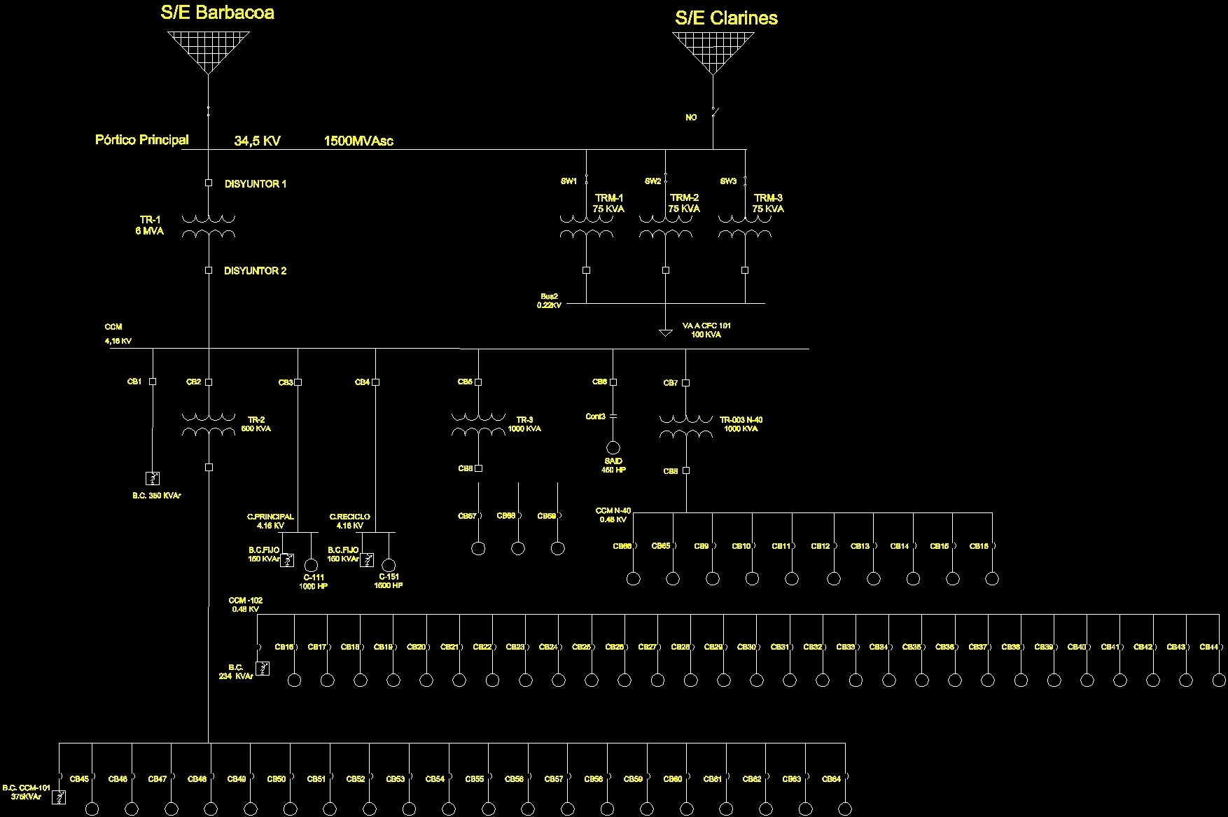 Electrical Schematic  Wiring Diagram 2d Dwg Block For