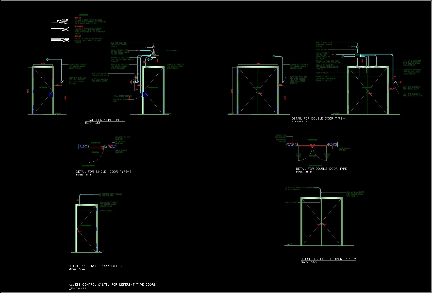 Plumbing Rough Electricity Boxes Dwg Elevation For Autocad Designs Cad