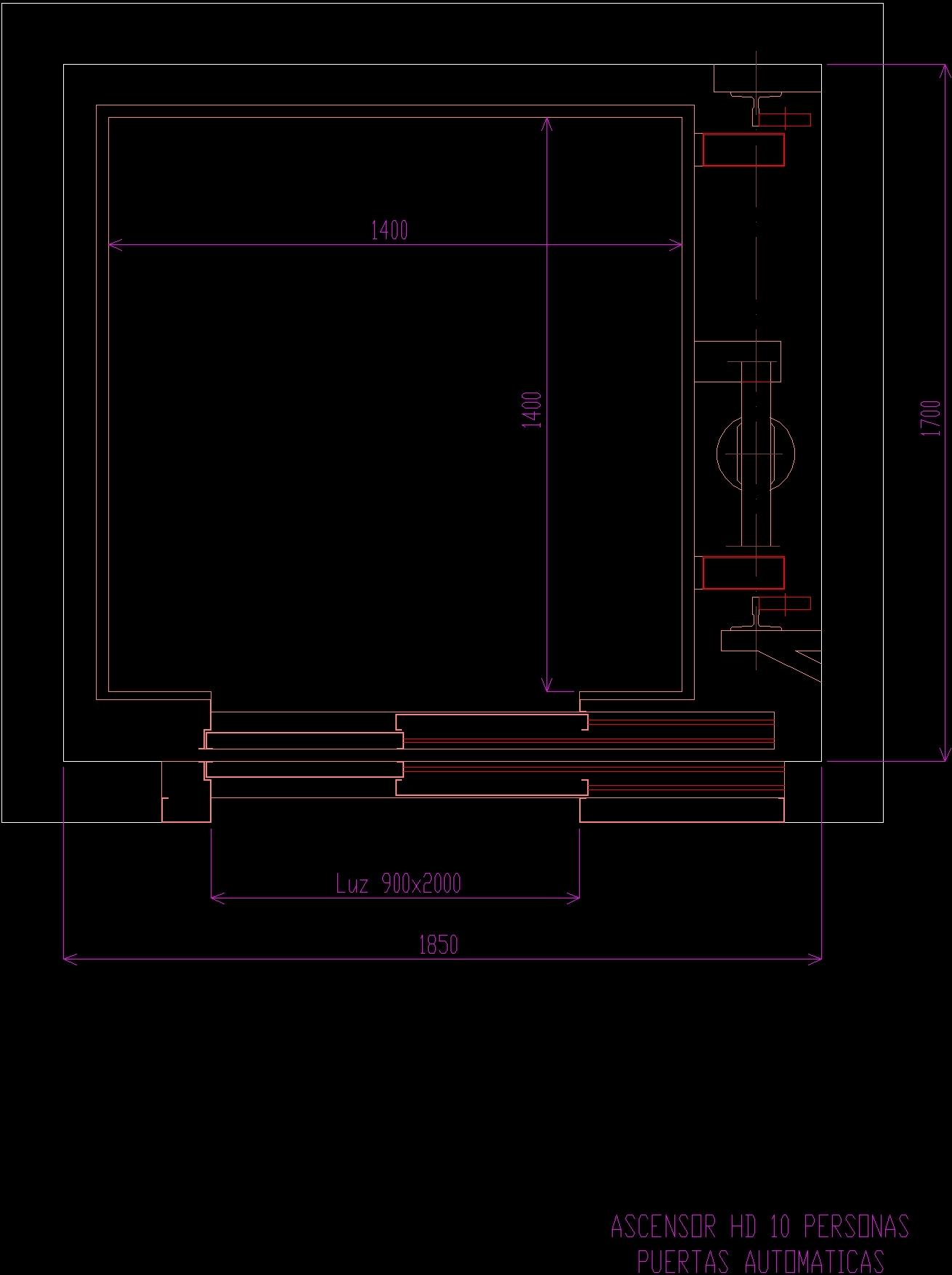 Autocad 3d House Design Software: Elevators DWG Block For AutoCAD