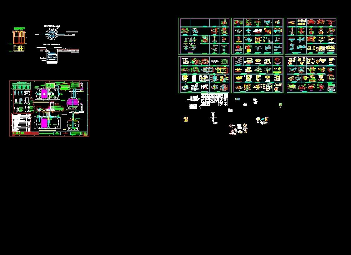 External Networks Dwg Block For Autocad Designscad