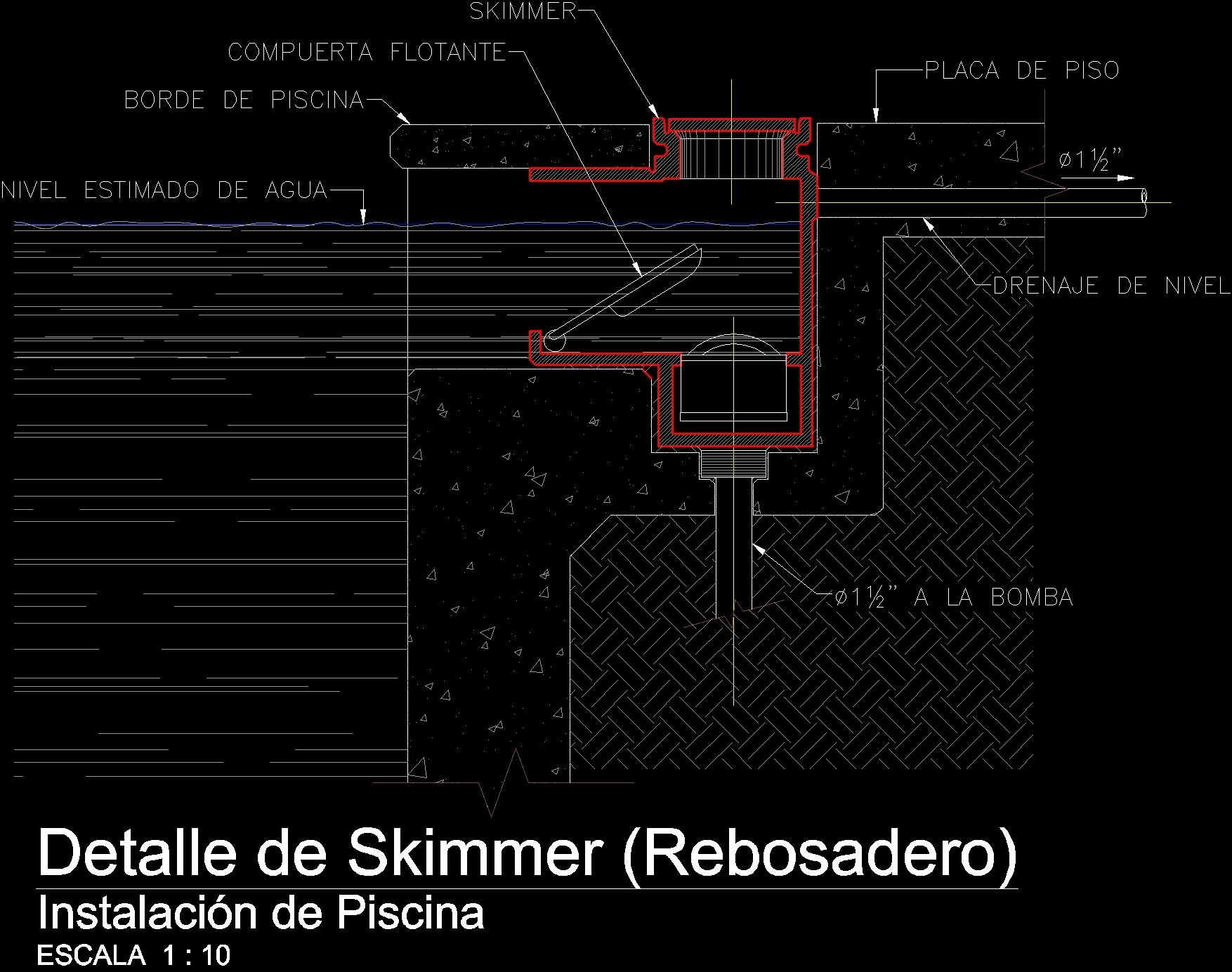 Extreme Skimmer Dwg Block For Autocad Designs Cad
