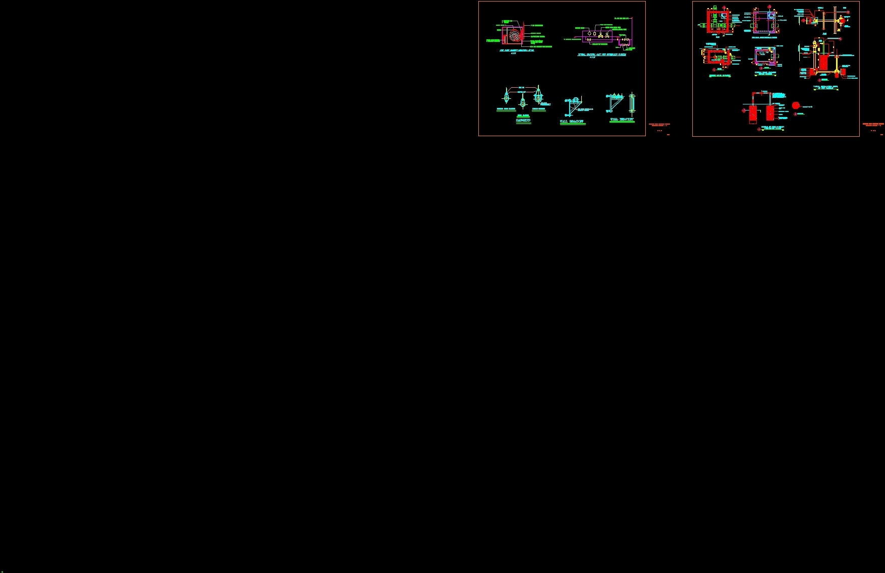 Fire Fighting General Details Dwg Detail For Autocad