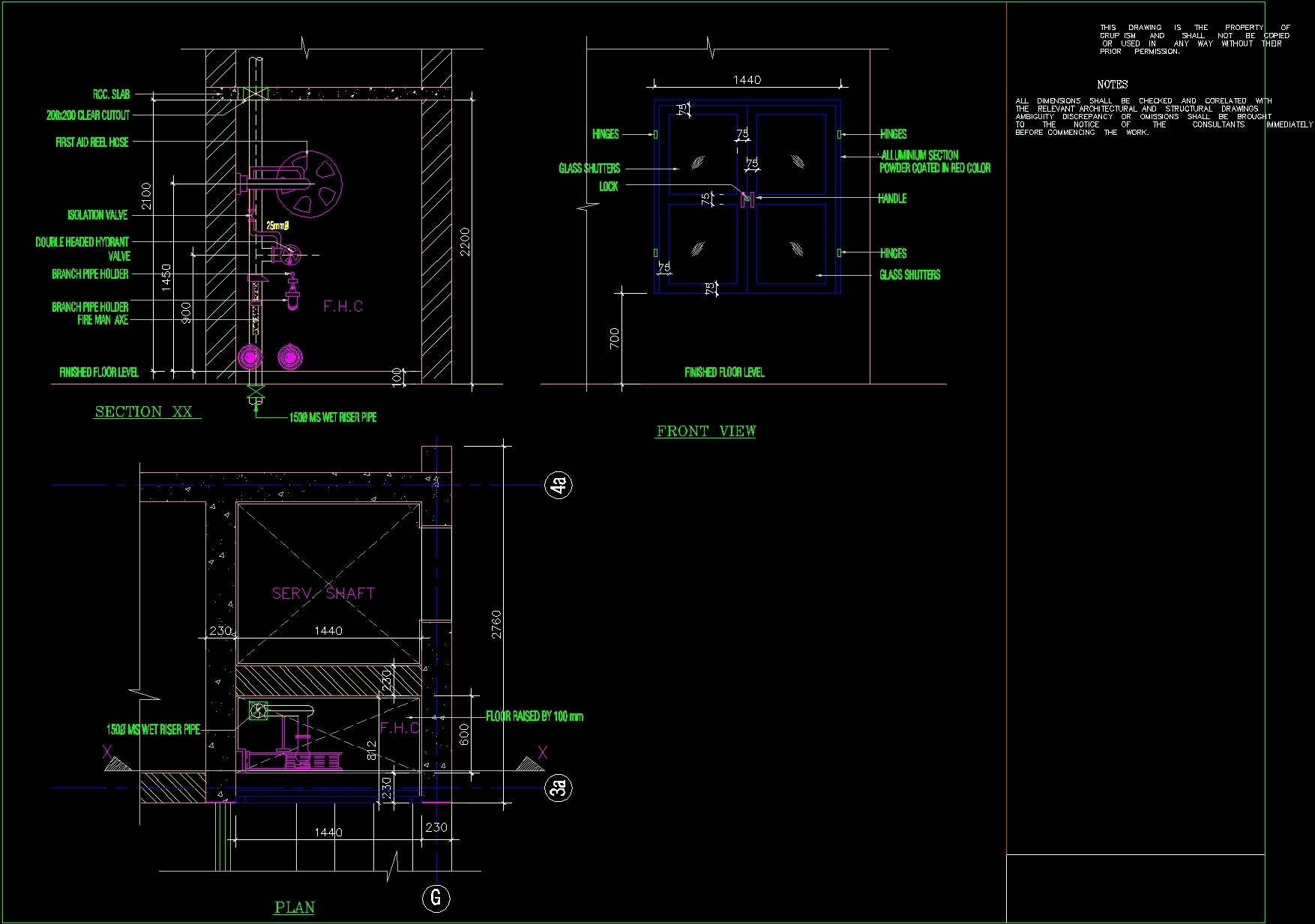 Fire House Cabinet Dwg Detail For Autocad Designs Cad