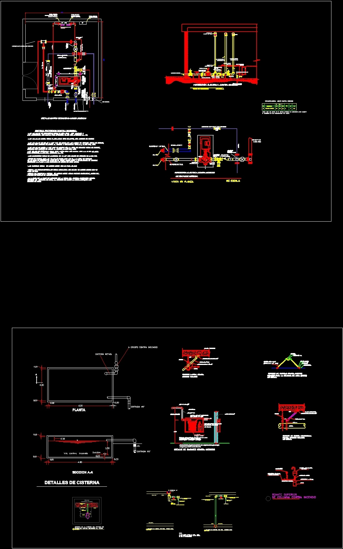 Fire Protection Details Dwg Detail For Autocad Designscad