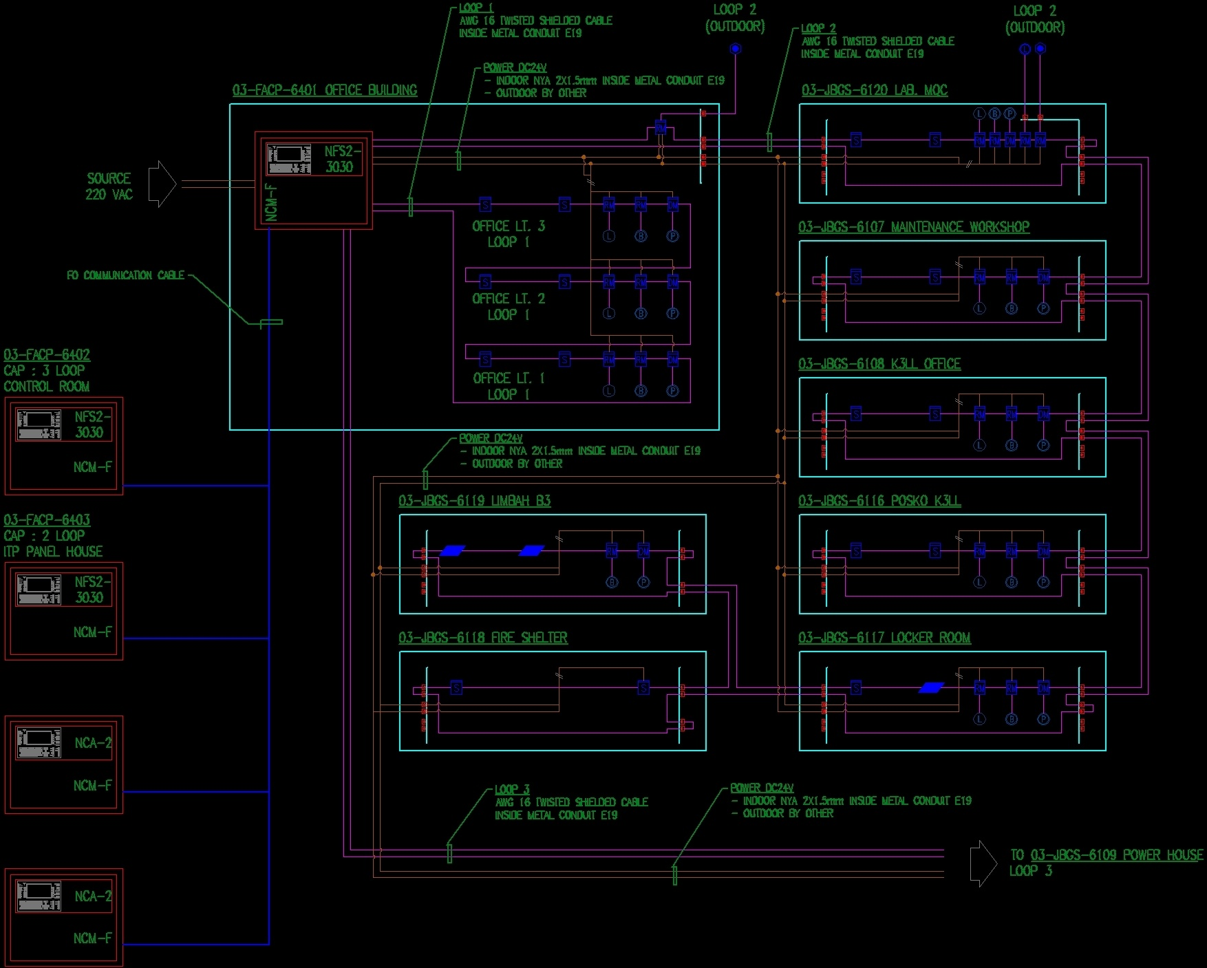 Fire Protection    Diagram    DWG Block for AutoCAD     Designs CAD