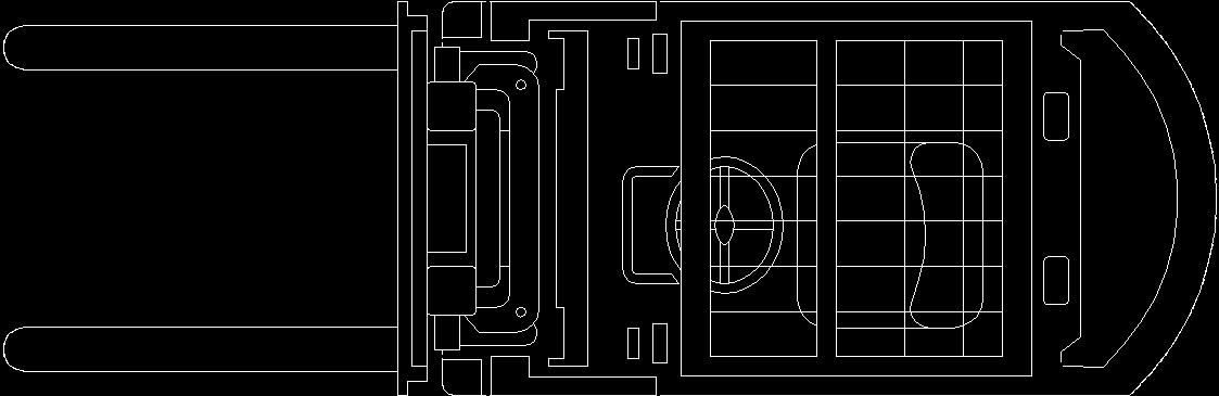 forklift 2d dwg plan for autocad  u2013 designs cad