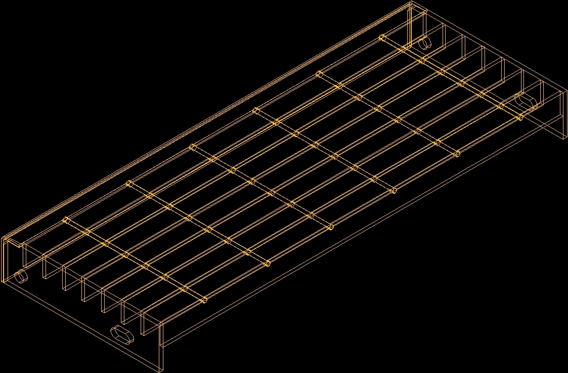 Grating Dwg Block For Autocad Designs Cad