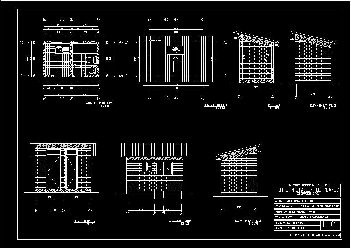 Hygiene Building Dwg Section For Autocad Designs Cad