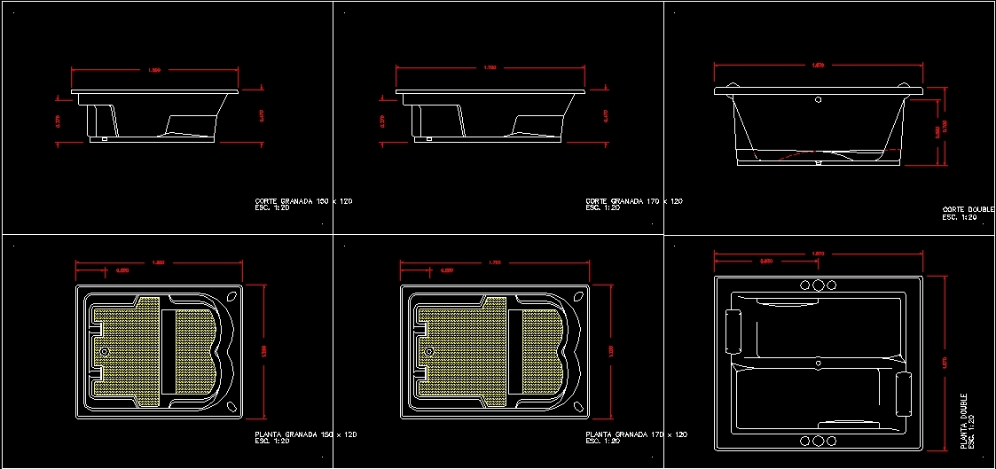 Jacuzzi Dwg Block For Autocad Designs Cad