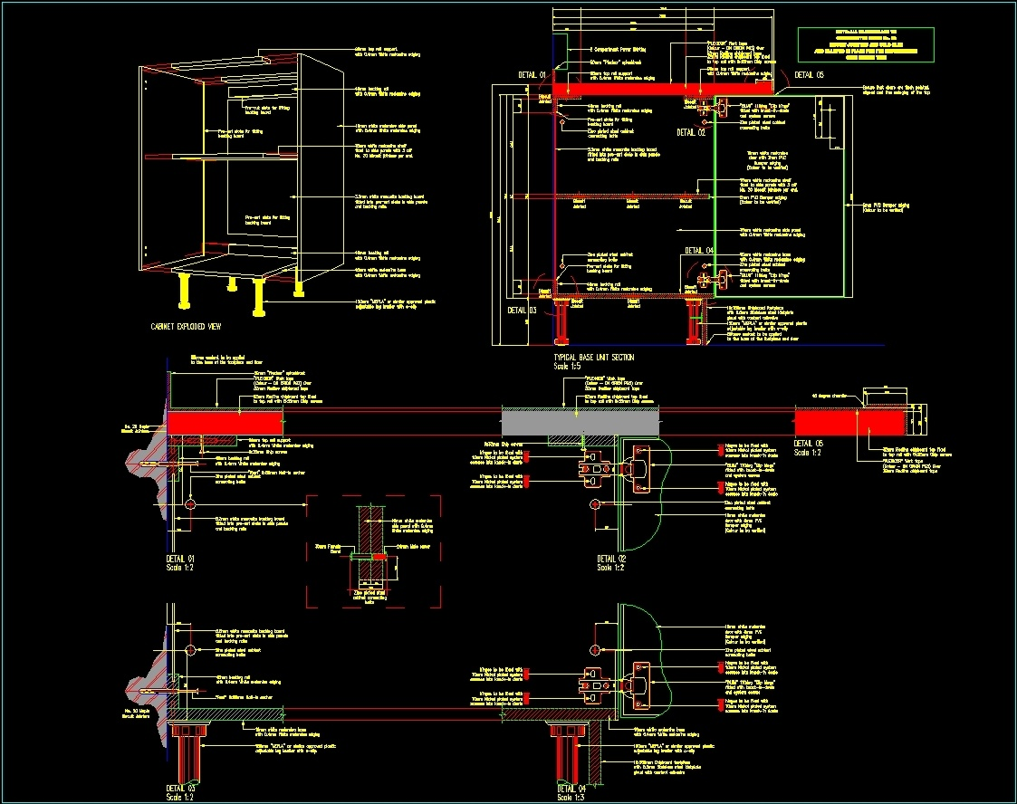 Joinery Details Dwg Detail For Autocad Designs Cad