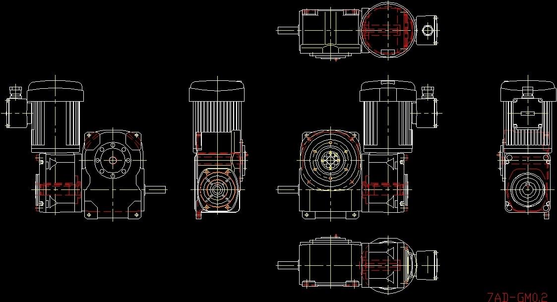Motor Dwg Block For Autocad Designs Cad