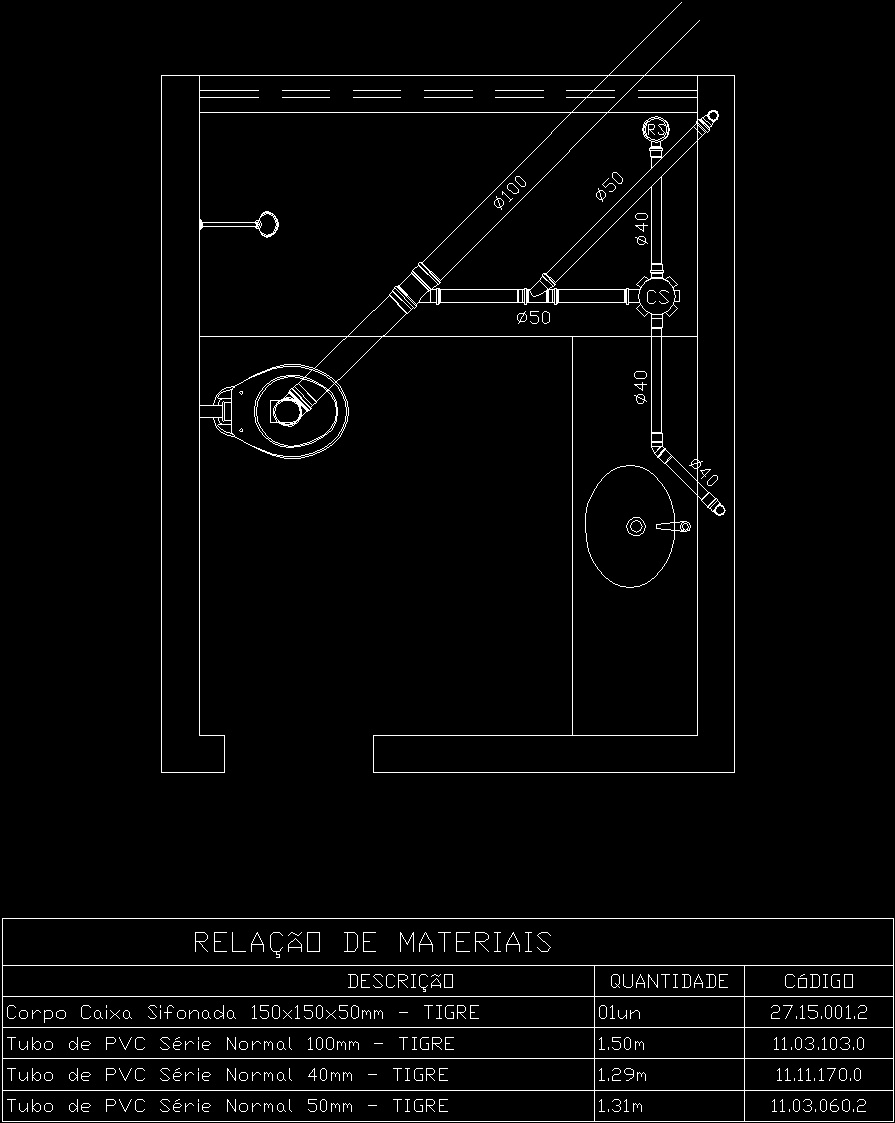 Plumbing Detail Dwg Detail For Autocad Designs Cad