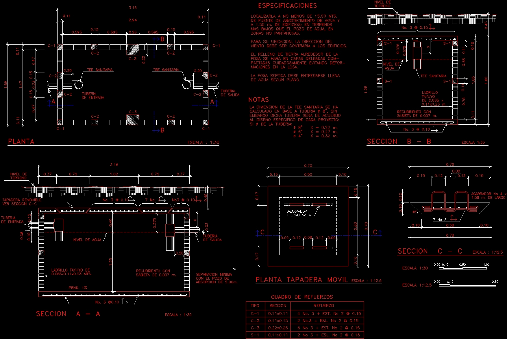 Tank Detail Dwg Section For Autocad likewise Isometric Installations Gas Water And Sanitary Plumbing Dwg Elevation For Autocad moreover 664 together with  likewise Appealing Water Closet Sizes Standard. on water cistern cad blocks