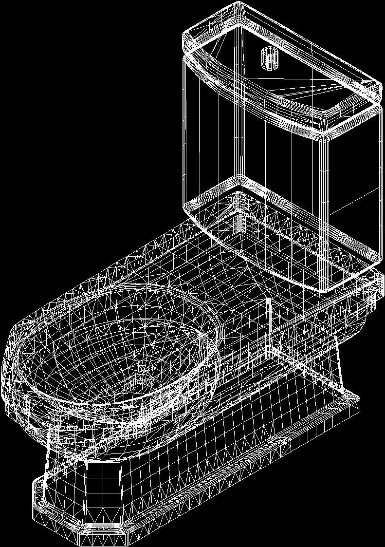 Set of bathroom ideal standard dwg block for autocad for Autocad bathroom blocks