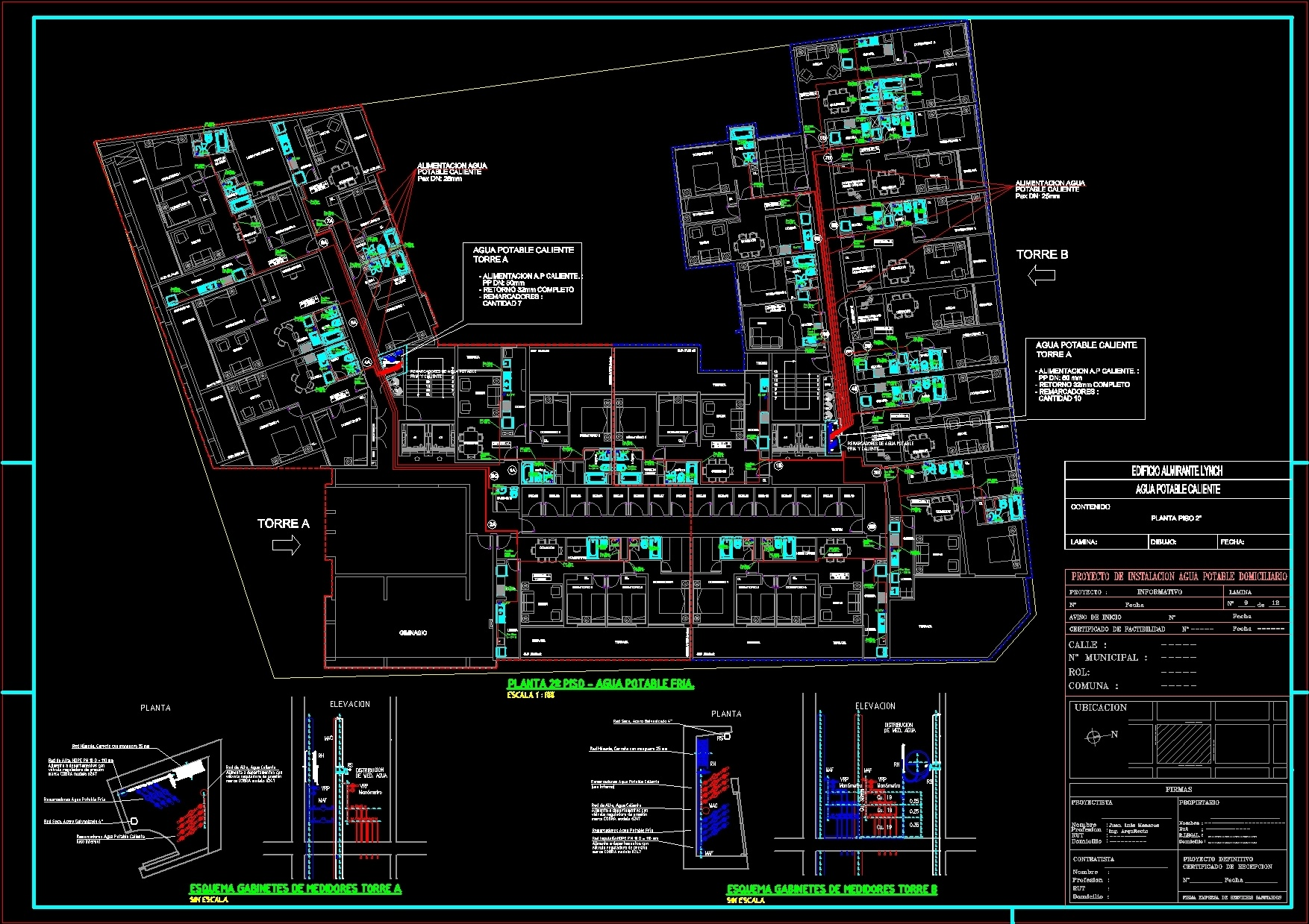 Ssnitary Building DWG Full Project for AutoCAD – Designs CAD