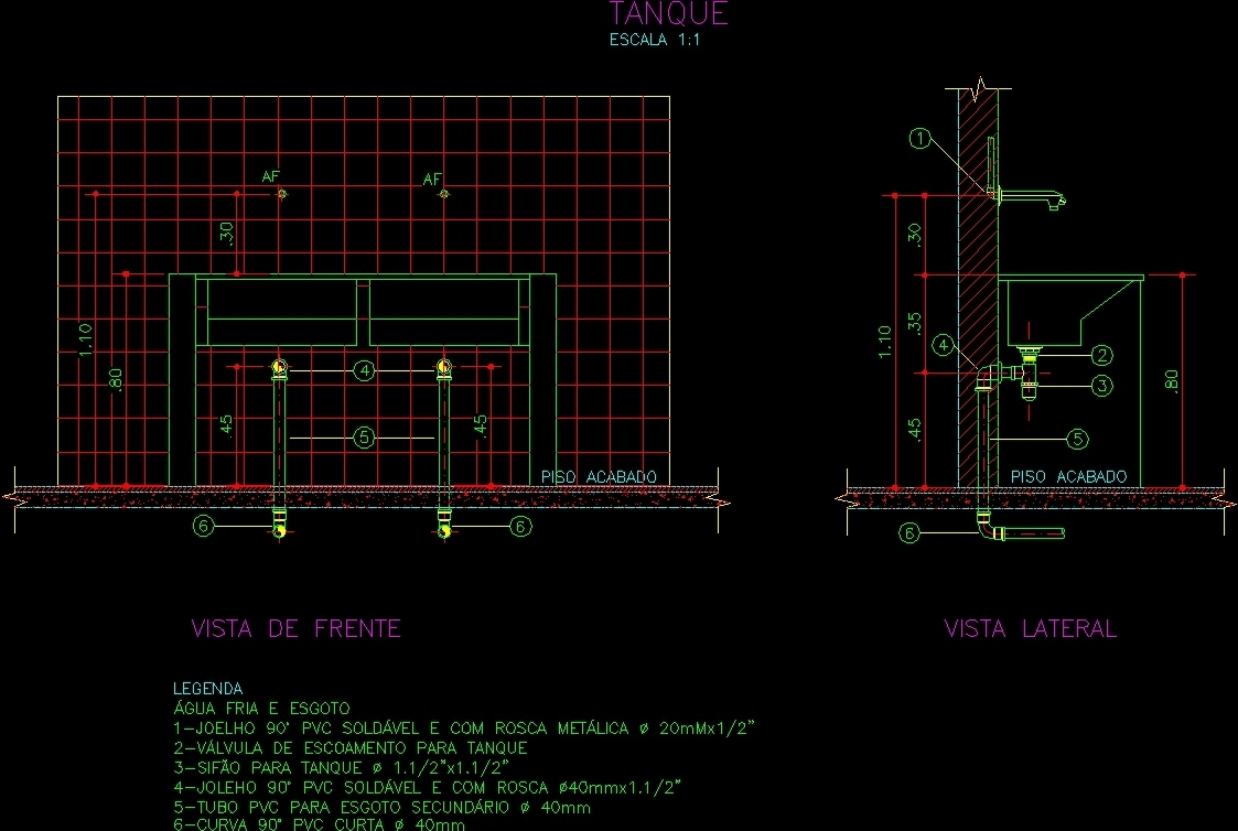 Tank Detail Dwg Detail For Autocad Designs Cad