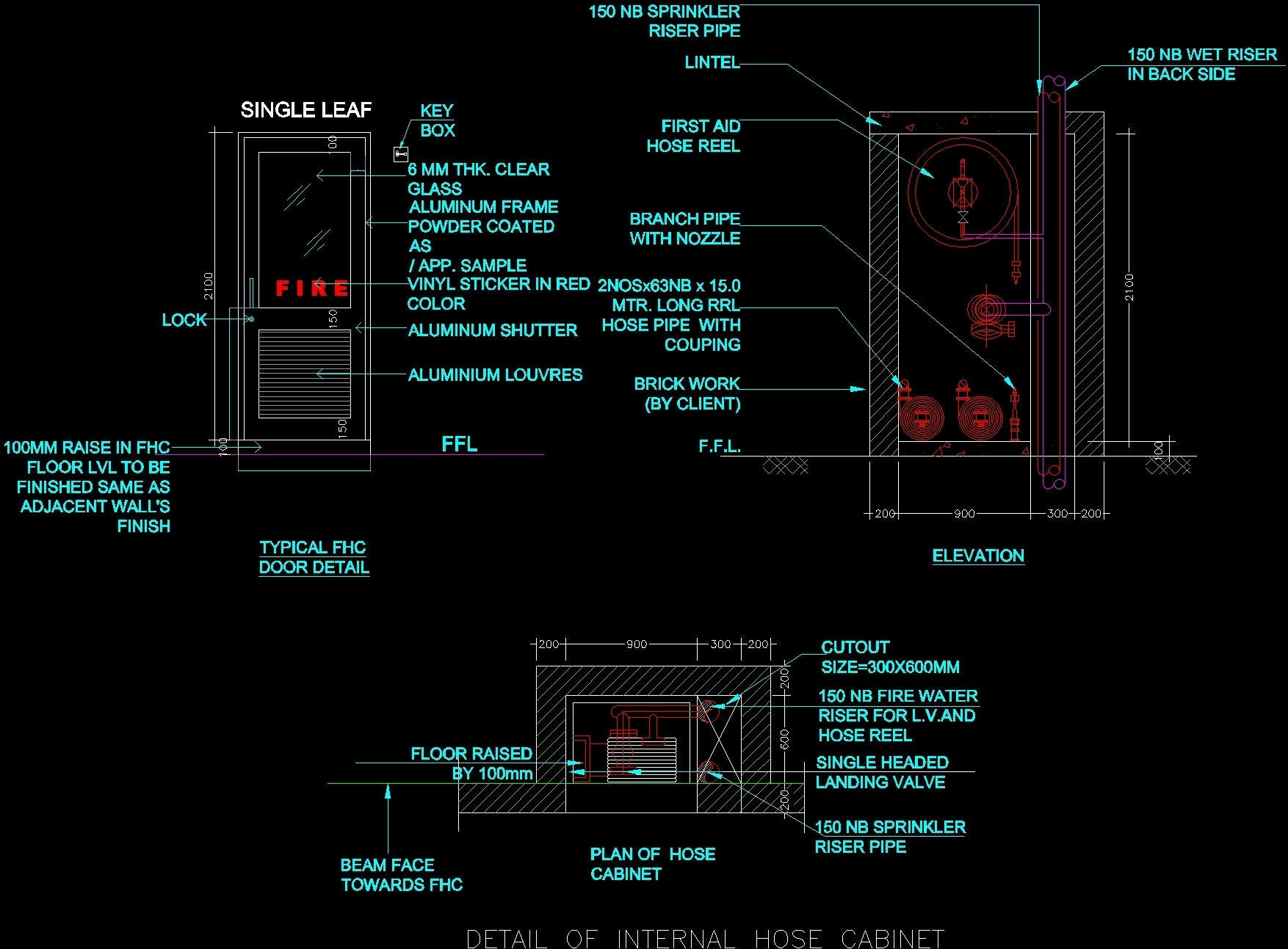 Typical Fhc Detail Dwg Detail For Autocad Designscad