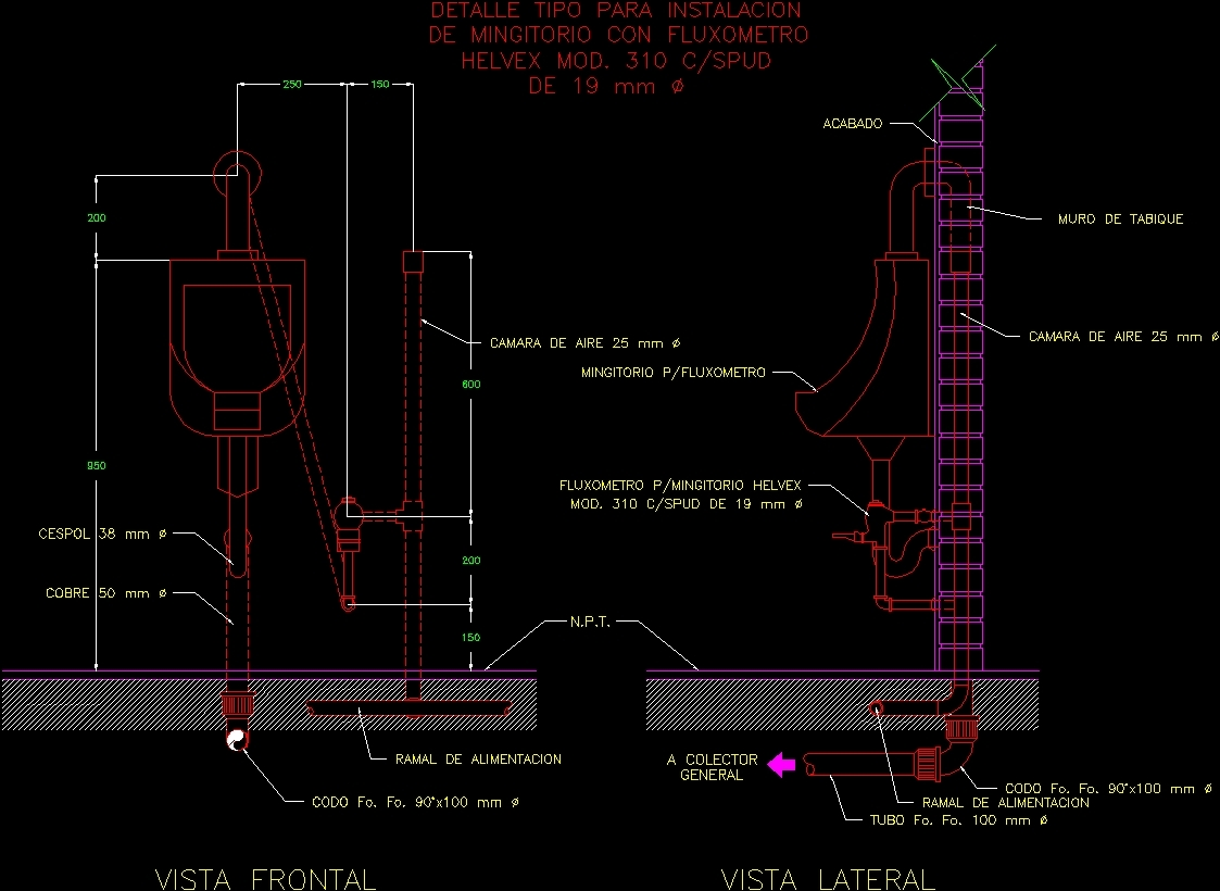 Urinals Dwg Detail For Autocad Designs Cad