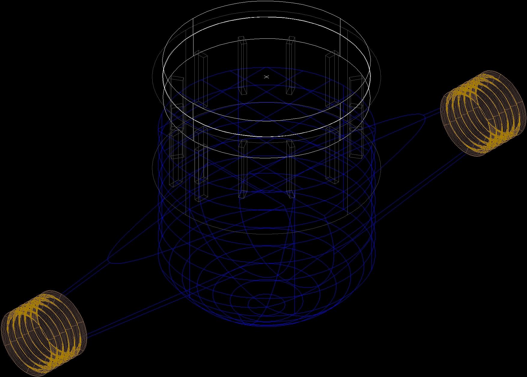 3d cad residential water meter model - Water Meter Tester Water 3d Dwg Model For Autocad