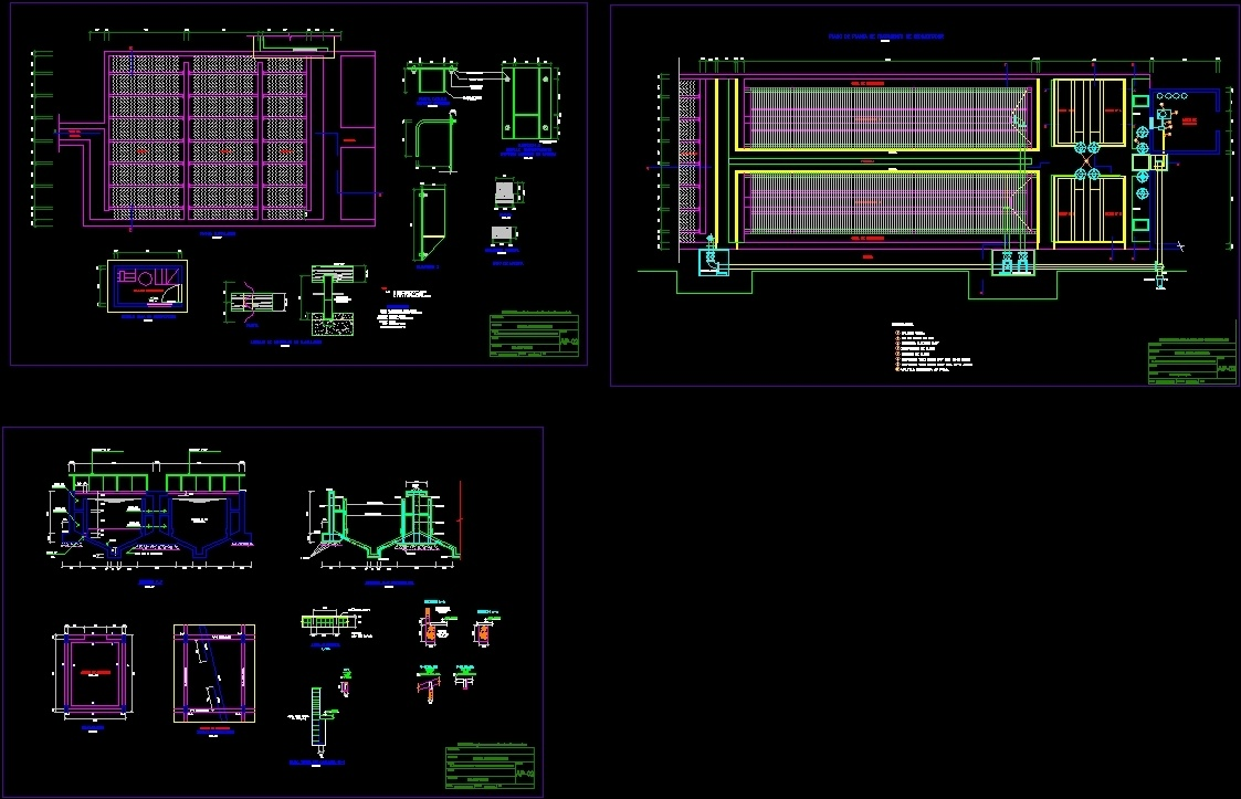 Water Treatment Plant Dwg Section For Autocad Designs Cad
