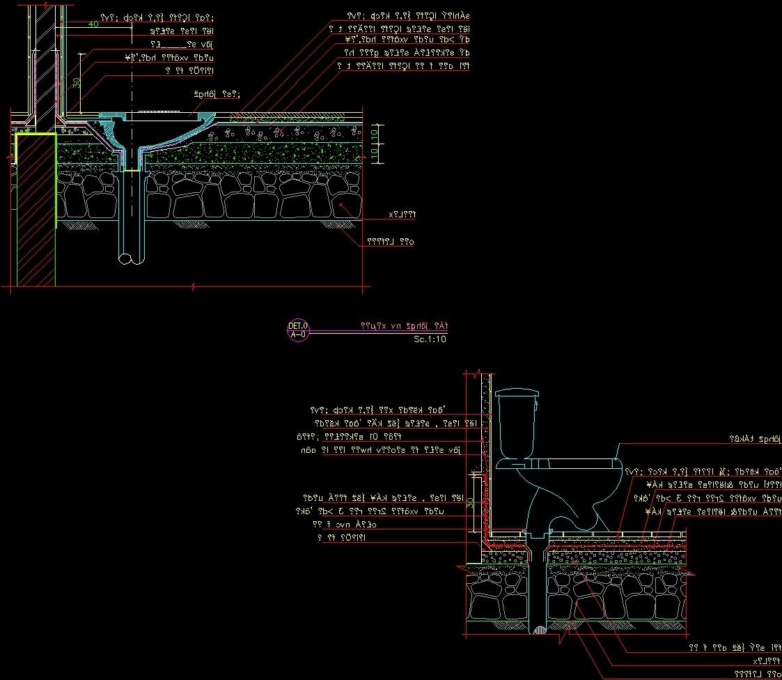 Salle De Bain Lumineuse Design ~ Wc Iran Farangi Dwg Detail For Autocad Designs Cad