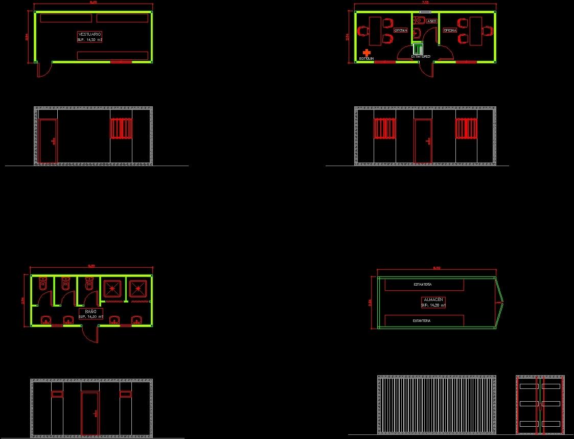 Worksite Dwg Plan For Autocad U2022 Designs Cad