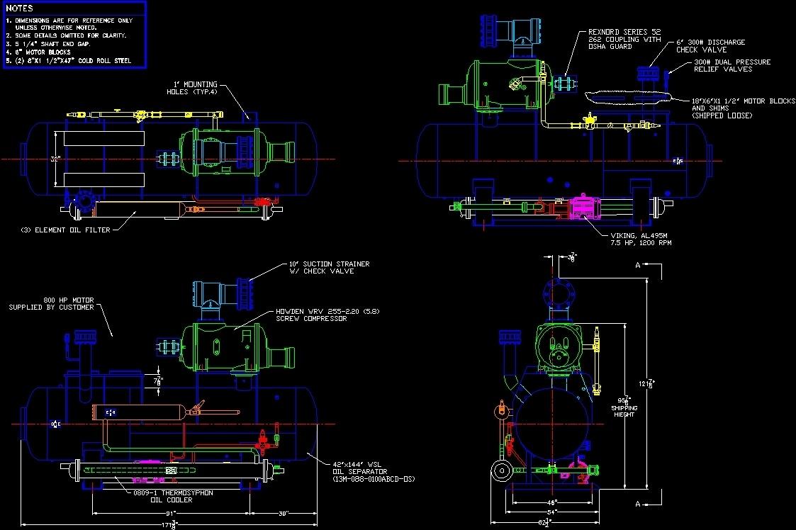 Compressor Hawden Dwg Block For Autocad Designscad