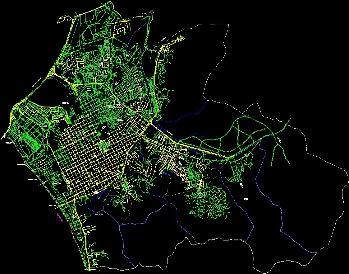Concepcion chile map dwg block for autocad designs cad additional screenshots gumiabroncs Gallery