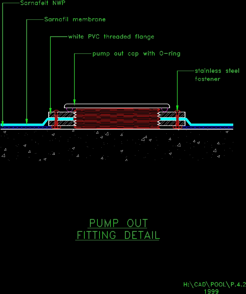 Details Of Swimming Pool Dwg Detail For Autocad Designscad