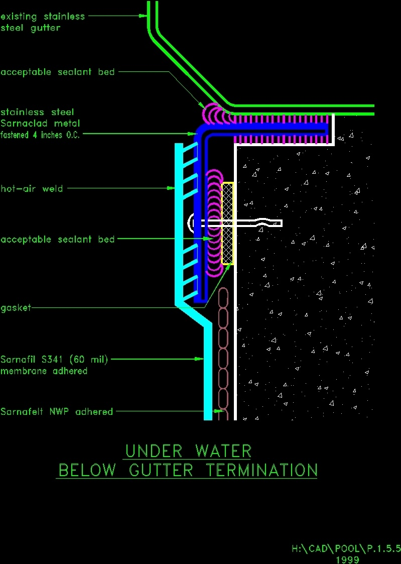 Details pool dwg detail for autocad designs cad for Piscina dwg