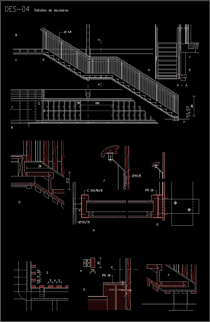 Escalator Dwg Detail For Autocad Designs Cad Schematic Additional Screenshots