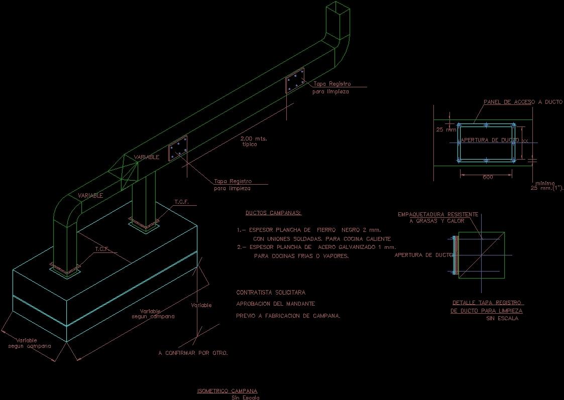 Exhaust Hood Dwg Block For Autocad Designs Cad