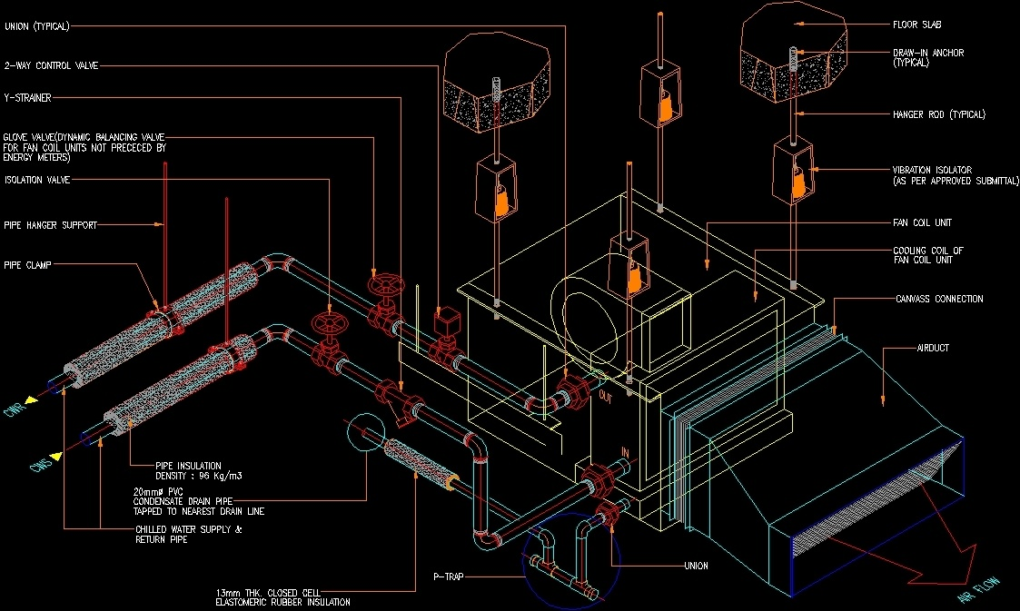 Fancoil Details Dwg Detail For Autocad Designs Cad