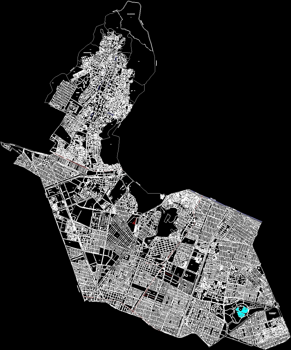 Federal District Of Mexico Dwg Block For Autocad Designs Cad