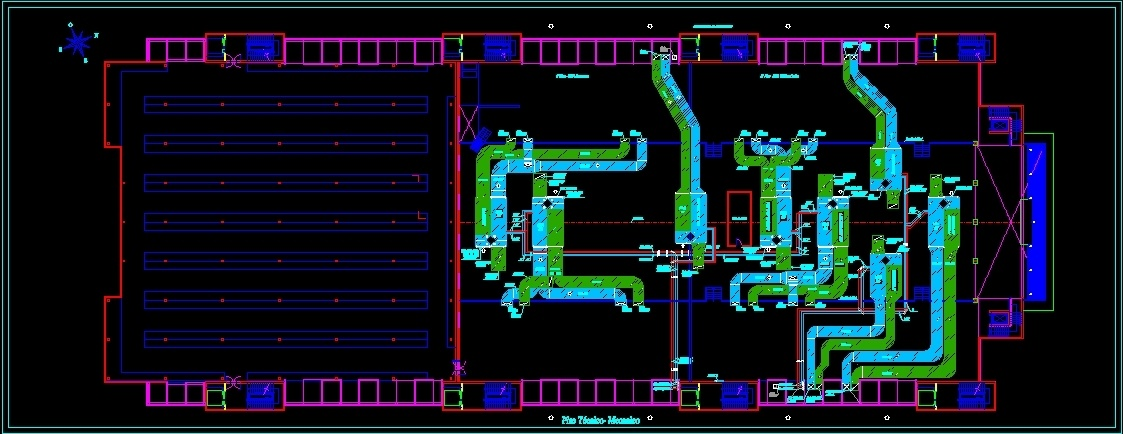 Hvac System DWG Block for AutoCAD • Designs CAD | Hvac Drawings In Autocad |  | Dollar CAD Blocks, Models, Elevations, Details and Plans for AutoCAD •  Designs CAD