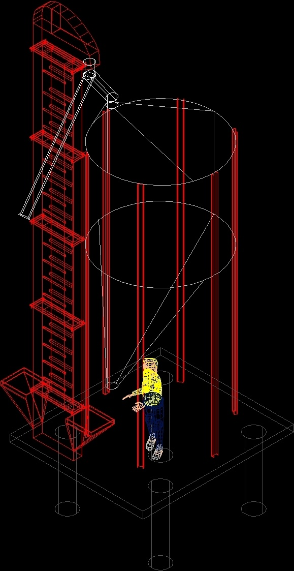Lift And Silo Dwg Block For Autocad  U2013 Designs Cad