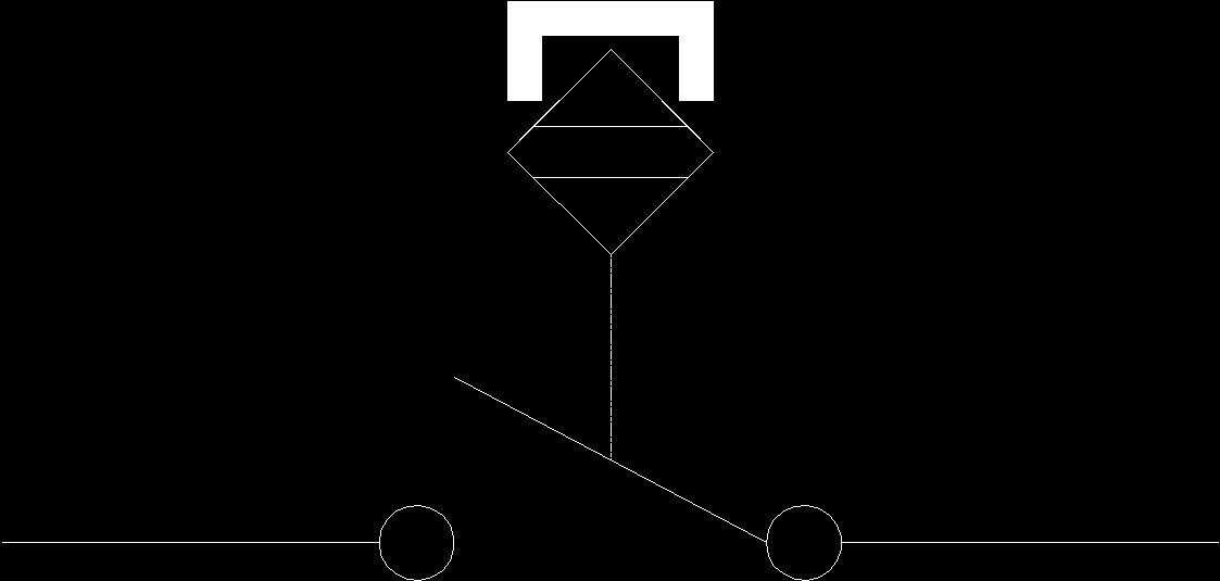 Magnetic Proximity Sensor Ansi No Dwg Block For Autocad Designs Cad