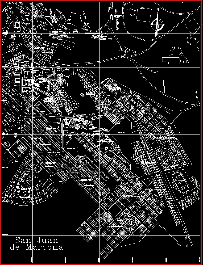 Marcona map dwg block for autocad designs cad additional screenshots gumiabroncs Gallery