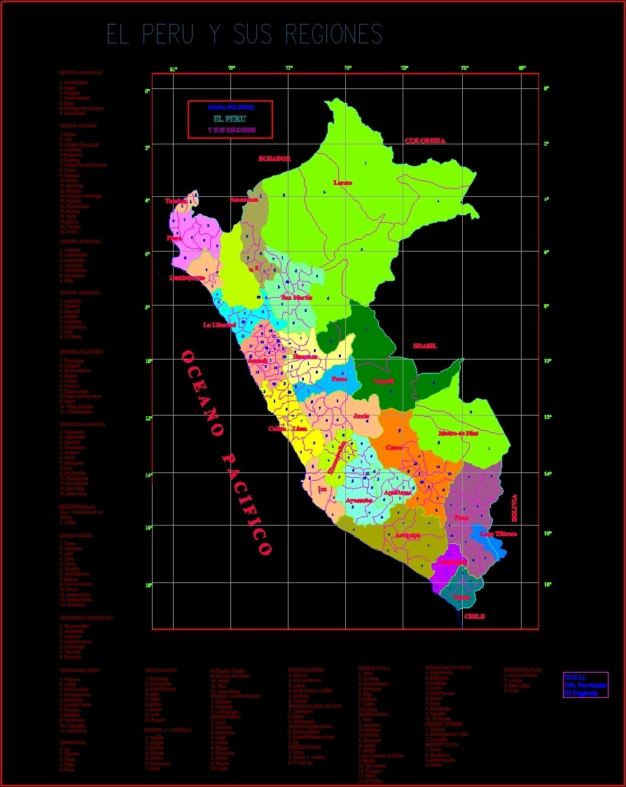Peru map dwg block for autocad designs cad additional screenshots gumiabroncs Gallery