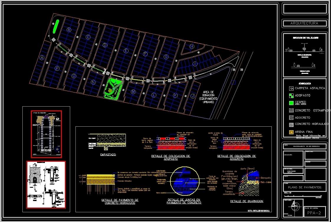 plano_de_pavimentos_para_vialidades_de_fraccionamiento_dwg_block_for_autocad160