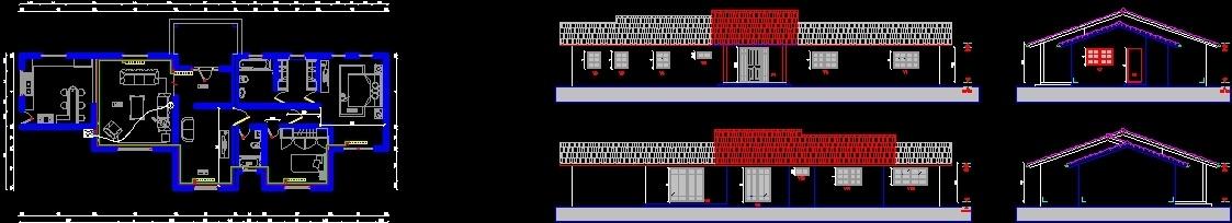 Plano heating dwg block for autocad designscad for Radiador dwg