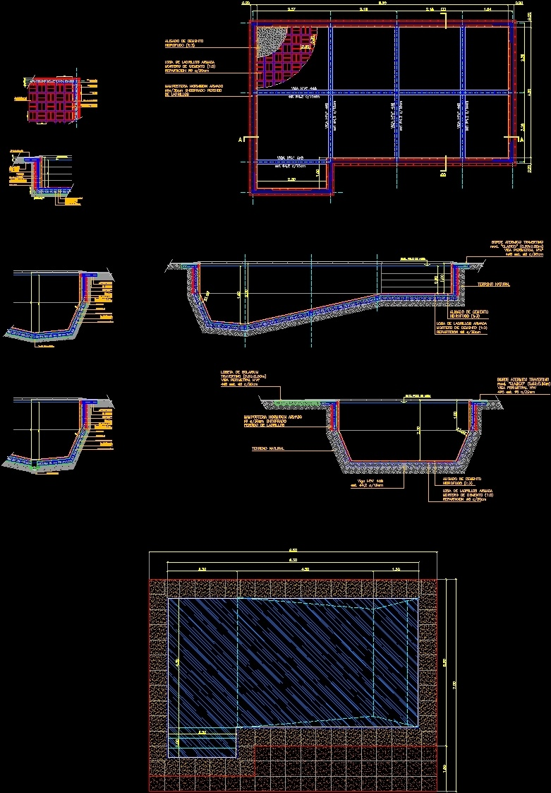 Swimming pool dwg detail for autocad designs cad for Swimming pool design xls