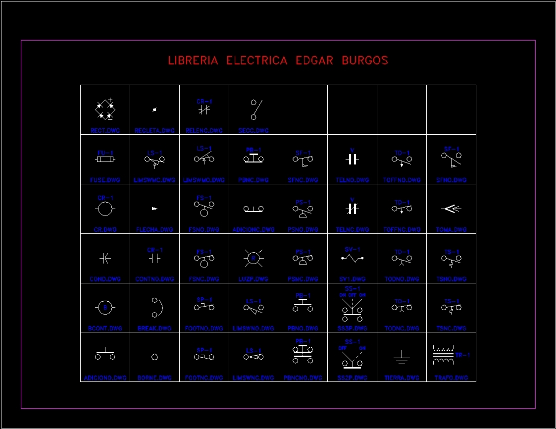43 electrical symbols self driven dwg block for autocad designs cad file type dwg biocorpaavc Image collections