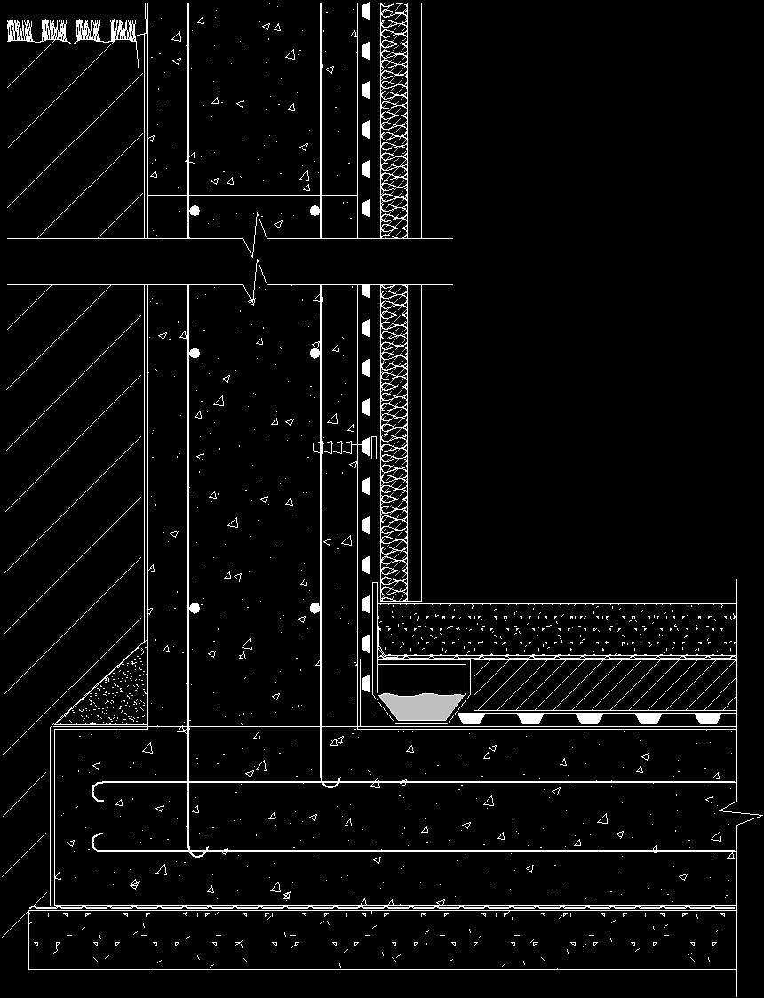 Basement Waterproofing Dwg Detail For Autocad Designs Cad