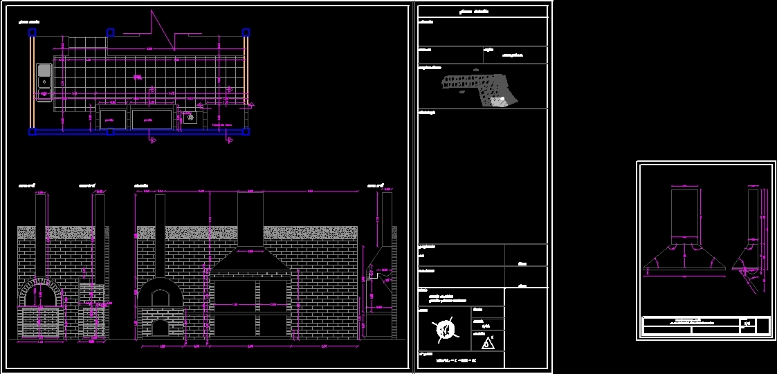 Bbq Grill DWG Block for AutoCAD