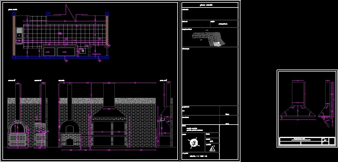 Bbq Grill Dwg Block For Autocad Designs Cad