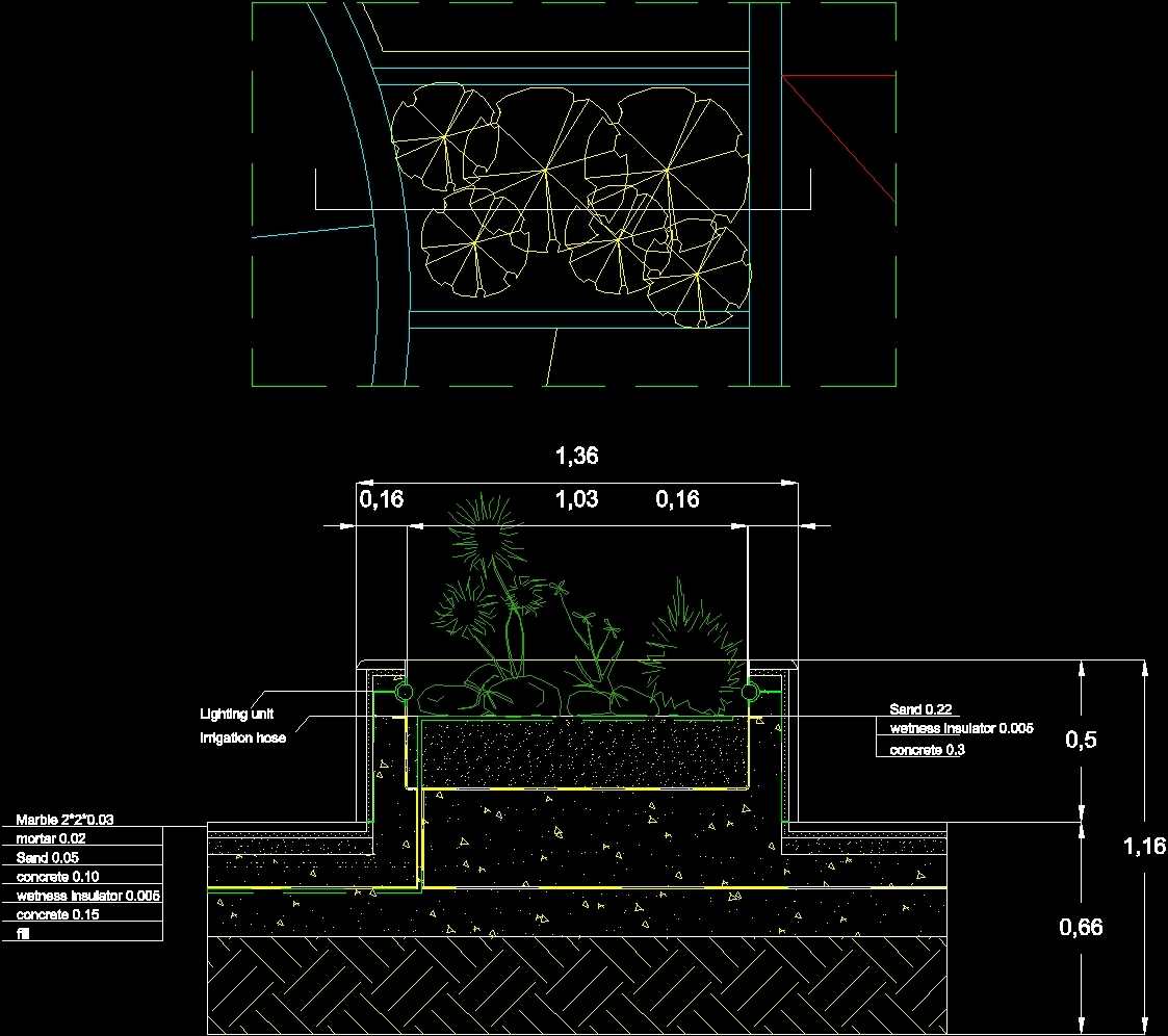 Box Detail Flowers Dwg Detail For Autocad Designs Cad