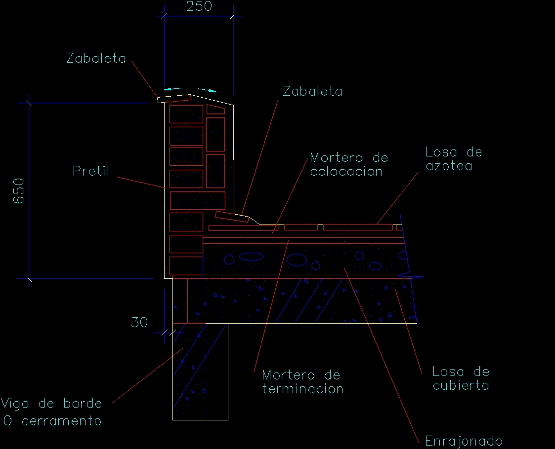 Detail Of Weld Parapet Dwg Detail For Autocad Designs Cad