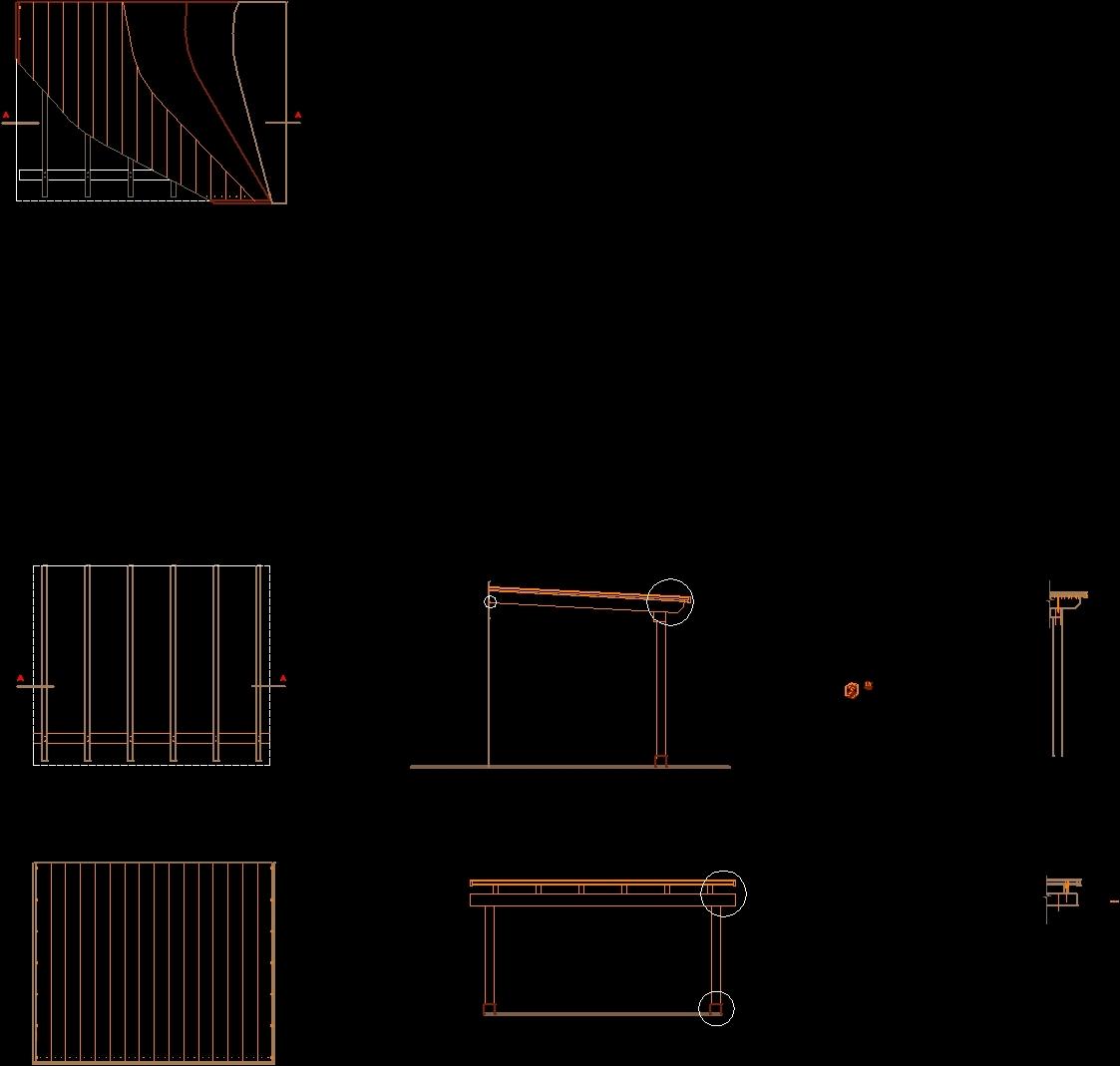 Details Pergola Dwg Detail For Autocad Designs Cad